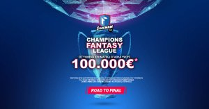 Stoiximan.gr: 100.000€ εγγυημένα* στο Fantasy Τουρνουά!