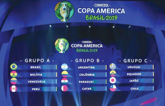 Κόπα Αμέρικα 2019 Όμιλοι