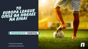 Novibet: Το Europa League επιστρέφει με σούπερ προσφορά* & Novi Specials!
